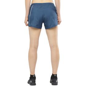 Salomon Agile Pantalones cortos Mujer, azul